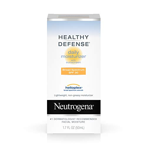 Neutrogena Healthy Defense Daily Moisturizer For Sensitive Skin With Broad Spectrum Spf 30...