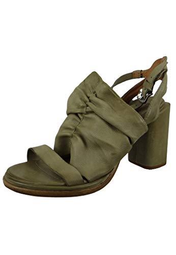A.S. 98 Damen Leder Sandalette Vide Africa Grau A03001-0201-6487, Groesse:41 EU