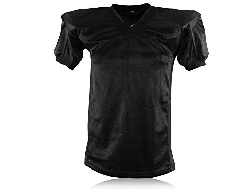 Full Force American Football Gamejersey, schwarz, Gr. XS