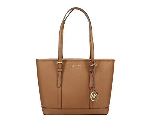 Michael Kors Jet Set Travel Small Top Zip Shoulder Tote - Luggage