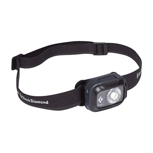 Black Diamond Sprint 225 HEADLAMP Linternas Frontales de Acampada y Marcha, Unisex-Adult, Graphite, All