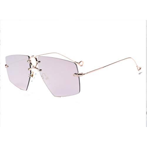 SUIBIAN Espejo Gafas de Sol Mujer Señora Mujer Gafas de Sol UV400