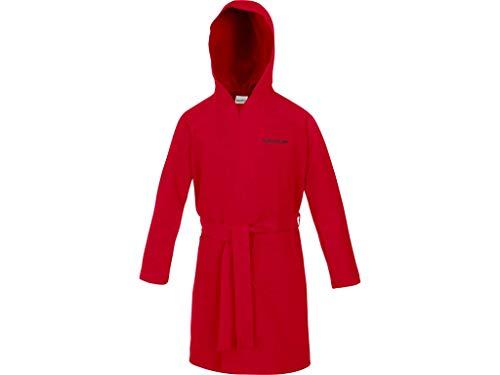 Speedo Microfiber Albornoz, Unisex adulto, Rojo (Red), 4