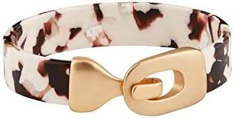 Mud Pie Women's Resin Cuff Bracelet Tan, One Size