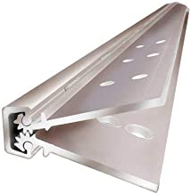 ABH A270-HD Aluminum Continuous Geared Hinge, Full Concealed (Clear, 79 Inch)