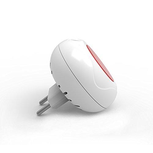 Wolf Guard JD-11 EU Plug - Sistema de alarma para interior (80 dB, luz decorativa)