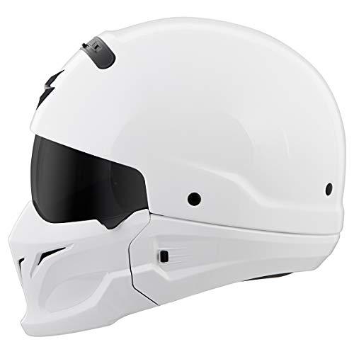 Scorpion Covert Helmet (X-Large) (White)