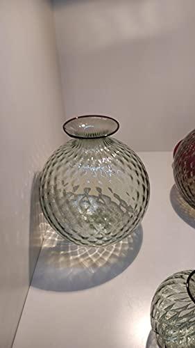 Venini Vase Ballaton grün Rio 100..29 d 12,5 h 24,5