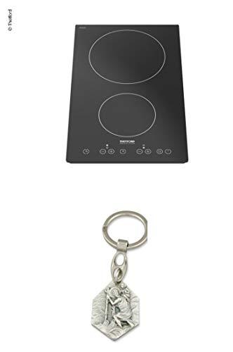 Zisa-Kombi 93298870316 - Cocina de inducción con 2 Placas (