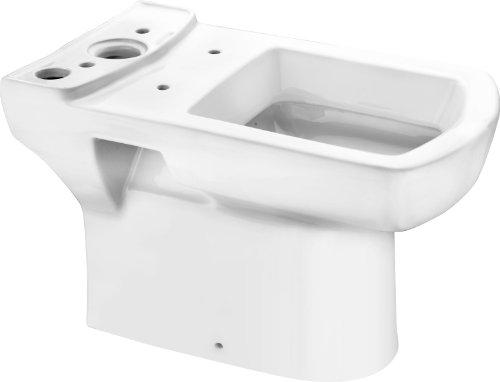 Cornat Stand-WC Tiefspüler ONDO mit CLEAN PLUS Oberfläche für Spülkasten Kombination