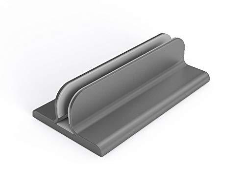 Slabo Supporto Notebook Supporto PC Portatile per MacBook | Mac Book Air | PRO | Notebook | Laptop Alluminio - Grigio | Space Grey