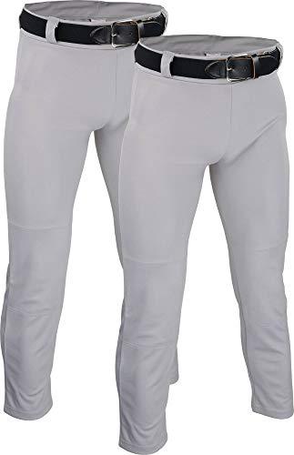 Sports Unlimited Jugend-Baseballhose – Fake Fly mit Gürtelschlaufen - - XL