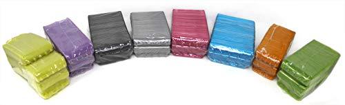 Blisters de Plástico Pack 800 Cartuchos para Monedas desde 1 Céntimo a 2 Euros