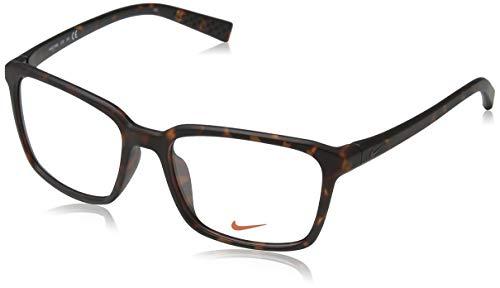 NIKE Brillengestelle 7096 Monturas de Gafas, Marrón (Braun), 53 para Hombre