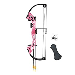 top rated Bear Archery AYS300PR Brave Youth Bow, Pink 2021