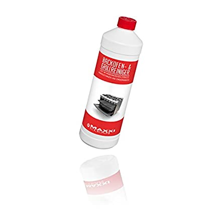 Maxxi Clean Limpiador de Horno y Parrilla en Gel 1000 ml   disuelve Las Incrustaciones más difíciles de Manera automática, sin Calentar y sin olores