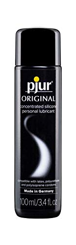 pjur Original Silicone Based Personal Lubricant Intimate Lube for Men & Women, 3.4 oz