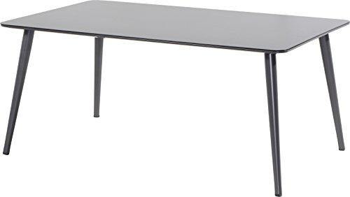 Hartman Sophie Studio-tuintafel, eetkamertafel, aluminium/HPL 170 x 100 cm