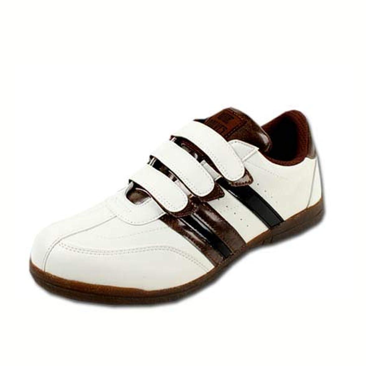 ベアリングサークルカテゴリートロイの木馬安全靴 安全スニーカー 鋼鉄先芯 マジックテープ セーフティーシューズ WW-331M 白