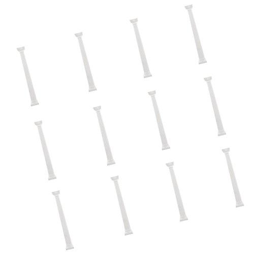 MagiDeal 12 Stück Griechische Säule Antik Blumensäule Dekosäule Säulen Podest Hochzeit Deko - 9 Zoll