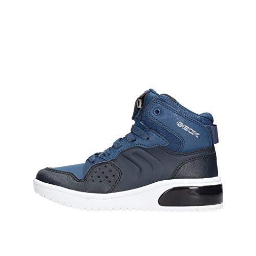Geox J XLED Boy Sneaker Jungen Blau/led - 38 - Sneaker High