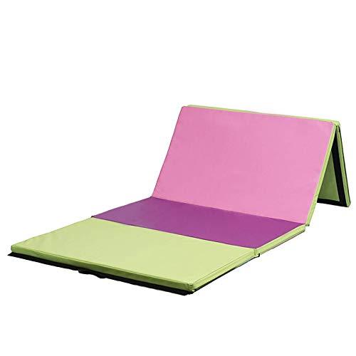 Yhjkvl Esterillas de gimnasia, plegable, para yoga, ejercicio, gimnasio, escalada, pilates, etc