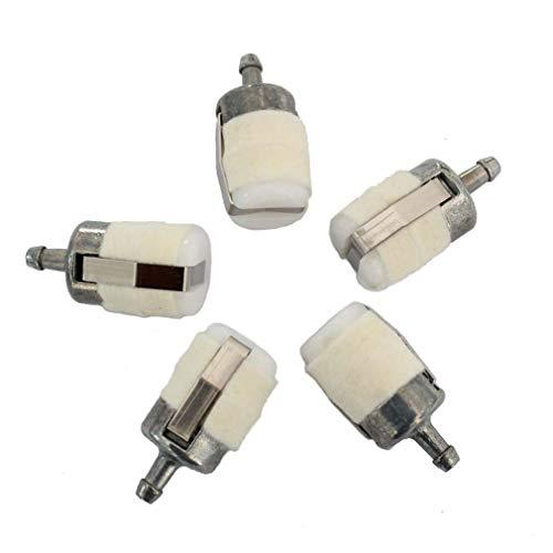 AISEN 5x Benzinfilter Kraftstofffilter für Dolmar 110 115 PS 33 43 52 390 401 540 4605 5105 Saugkopf