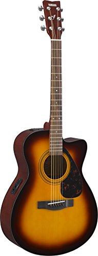 YAMAHA FSX315CTBS - Guitarra electroacústica, Marrón (Tobacco Brown Sunburst)