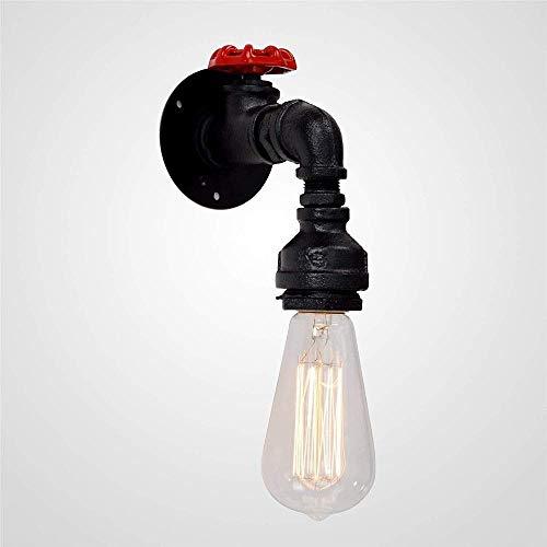 Hogreat Lámpara de Pared Grifo Retro en Forma de Gota de Agua decoración de la Pared decoración lámpara de salón Comedor Bar Pasillo iluminación de Pared