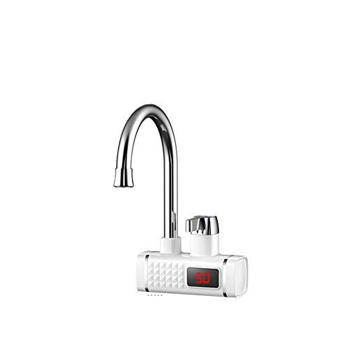 LZHJ 3000W elektrischer Hahn, elektrischer Wasserkocher der Küche, schneller heißer und kalter Anzeigen-Thermostat-Hahn,B