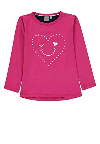 Kanz Mädchen 1/1 Arm T-Shirt, Rosa (Pink Peacock Rose 2253), (Herstellergröße: 92)