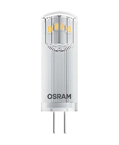 Osram LED Star Pin G4 / Lampe, G4, 1, 80 W, 12 V, Ersatz für 20-W-Glühbirne, klar, Warm White, 2700 K, 2 - er-Pack