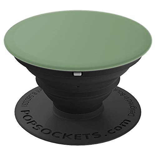 Matte Olive Green PopSockets Grip and Stand for Phones and Tablets