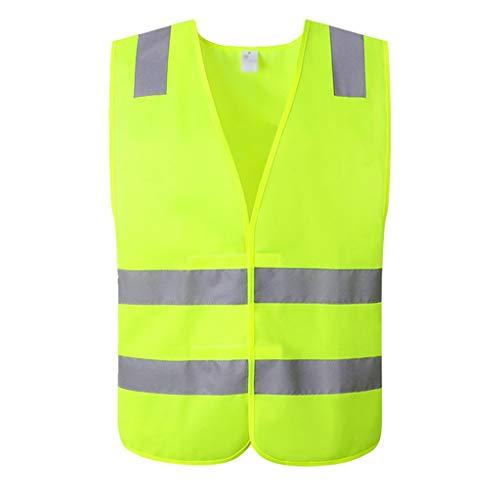 ChengLao- Warnweste, Straßenverkehrssicherheit Schutzkleidung Auto-Fahrer Fluoreszierende Kleidung Weste Beherbergungs (Size : M)