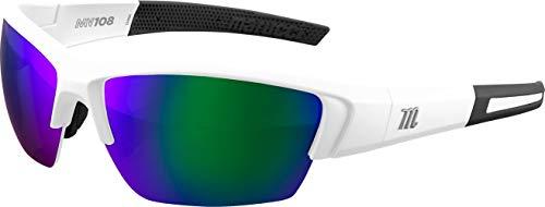 Marucci Sports Equipment Sports, MSNV108-W-GR, V108 Sunglasses
