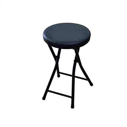 LLSS Taburete Plegable Compacto de Forma Redonda con sillones reclinables, Estructura de Acero con...