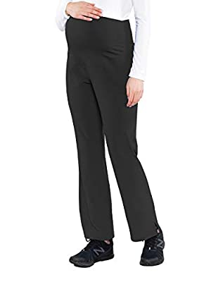 Med Couture Women's Maternity Pant, Black, Medium