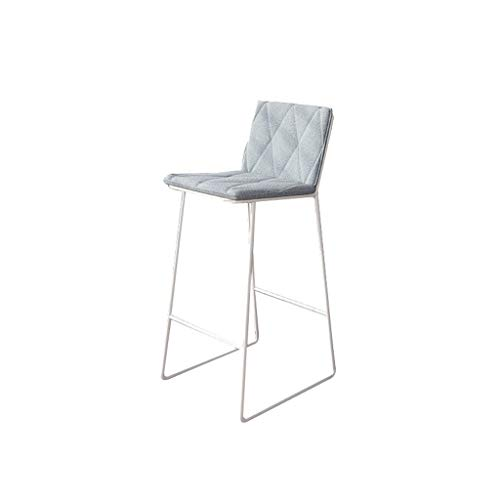 Taburetes de Muebles de Entretenimiento-CJiaJ Iron Art - Taburete alto, hogar, cocina, comedor, silla de comedor, balcón, barra, bar, sillón, taburete, tienda de ropa, silla decorativa, 46 * 49 * 92 c