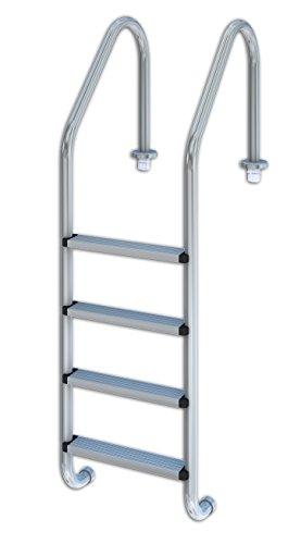 Productos QP 509084 - Escalera estándar 4 peldaños aisi 304