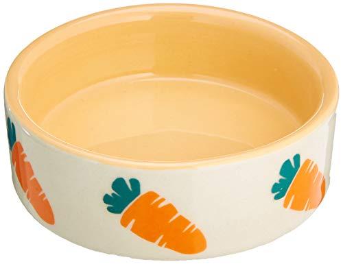 "Nobby Nager Keramikschale \""CARROT\"" beige / orange Ø7,5 x 2,5 cm"