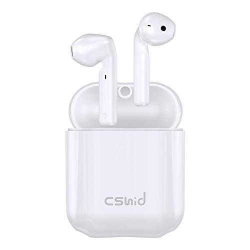 Bluetooth Kopfhörer, Cshidworld Kabellose Kopfhörer mit Bluetooth 5.0 TWS Noise Cancelling Headset In Ear Kopfhörer HiFi APT-X CVC8.0 mit Mikrofon und 30H Spielzeit, Ladekästchen mit Wasserdicht