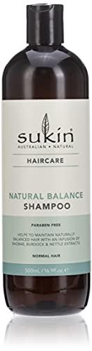 Sukin Australian Natural Sukin Shampoo natürliche Balance, Sukin Natural Balance Shampoo, 500 ml