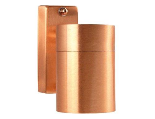 Nordlux Kupfer Außenleuchte Wandleuchte Tin Down, GU10, 35 W