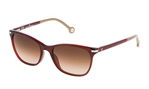 Carolina Herrera SHE6525406DC Gafas de sol, Rojo, 54 para Mujer