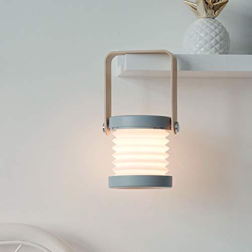 Lámpara colgante de carga USB para decoración de ambiente pequeña noche portátil multifunción pequeña lámpara de mesa (color: Yabai)