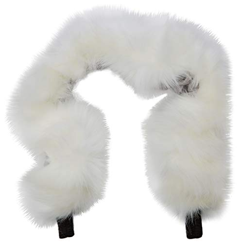 For-Your-Little-One aFHACWN-W435 Pram Fur Hood Trim Compatible On Nurse Blanc