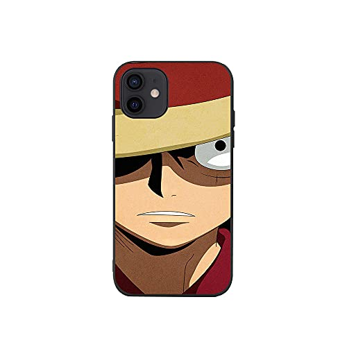 Anime Coque Fundas Vidrio Templado Cover Case per iPhone 6 6S 7 8 Plus 10 X XR XS XS MAX-Zoro-5_for_iphoneXSmax
