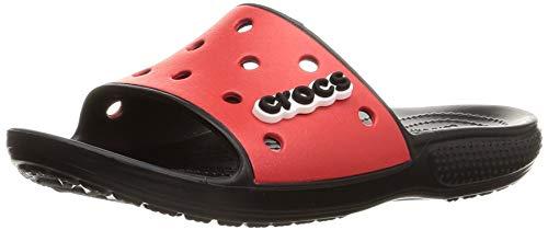 Crocs Unisex Crocband Flip Flops   Sandals For Women Flipflop, Black Flame, 43/44 EU