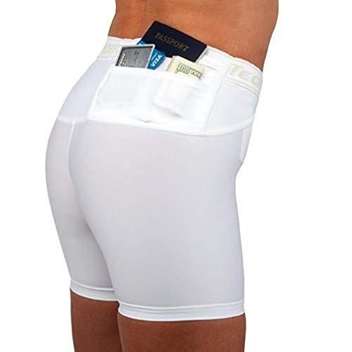 Travel Safe Damen Shorts, schwarz, 3X