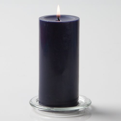 Richland 3' X 6' Hand Poured Navy Blue Pillar Candle